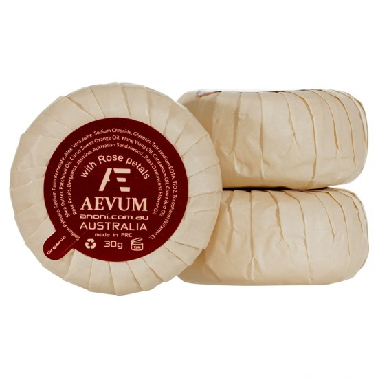 Aevum Pleat Wrapped Soap 30g