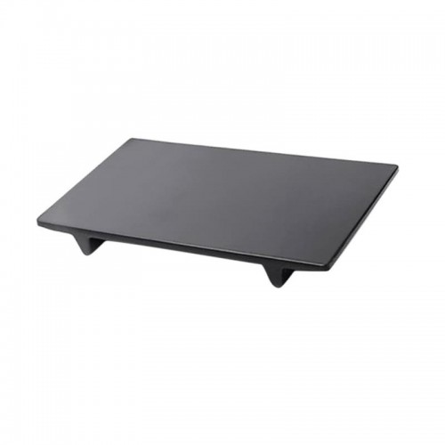 Rectangular Melamine Tray in Black or White