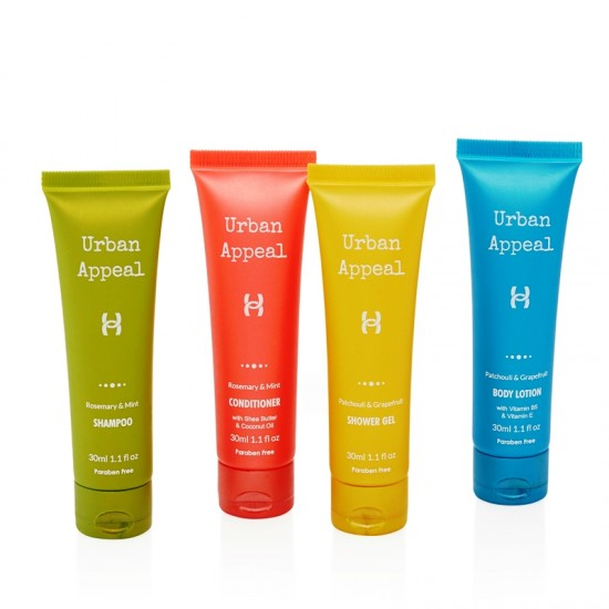 Urban Appeal Luxury Bath Collection - 30ml Tubes